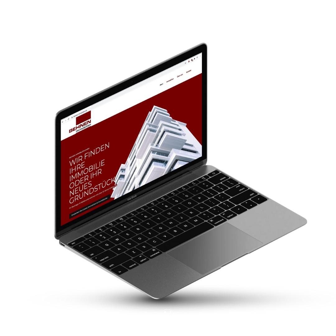 Erstellung Website – Immobilienmakler